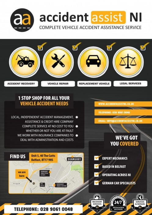 Accident Assist Poster