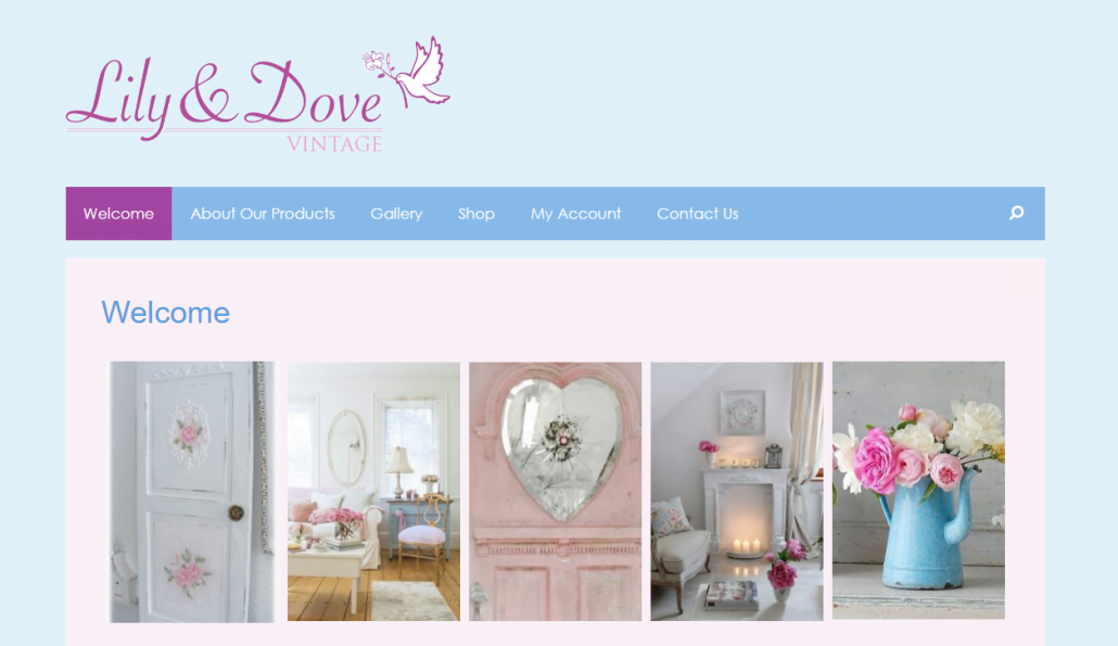 Lily & Dove Website