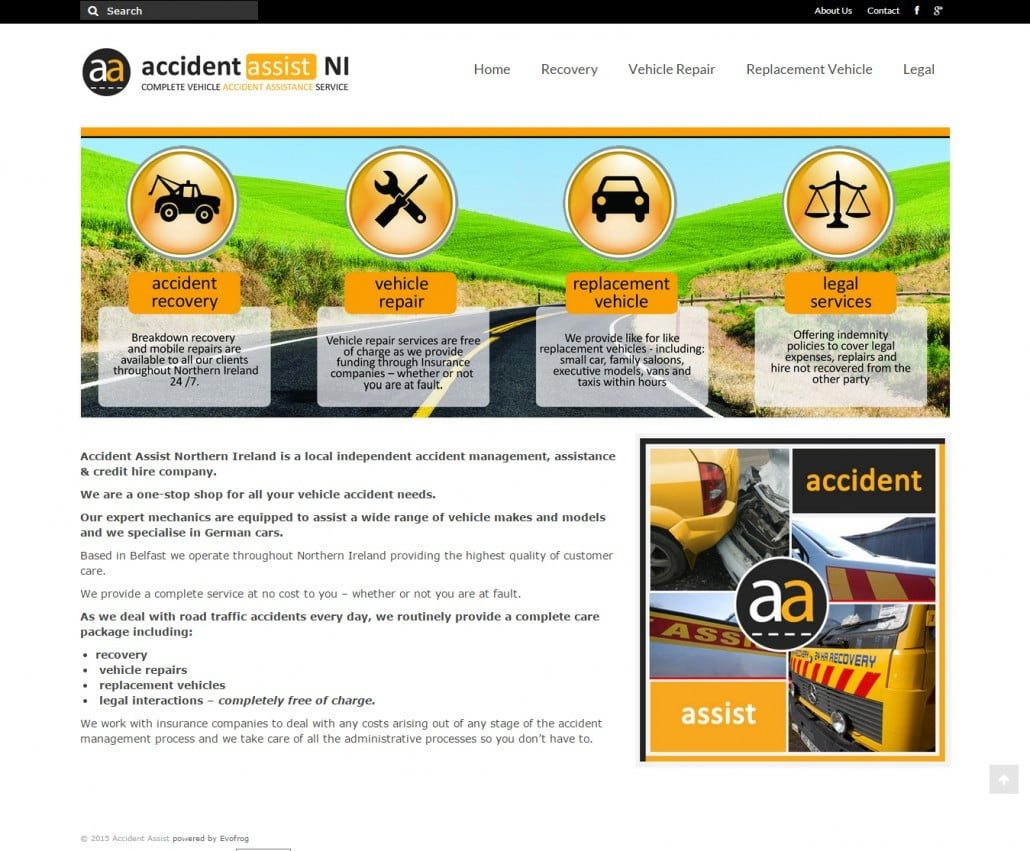 Accident Assist Website