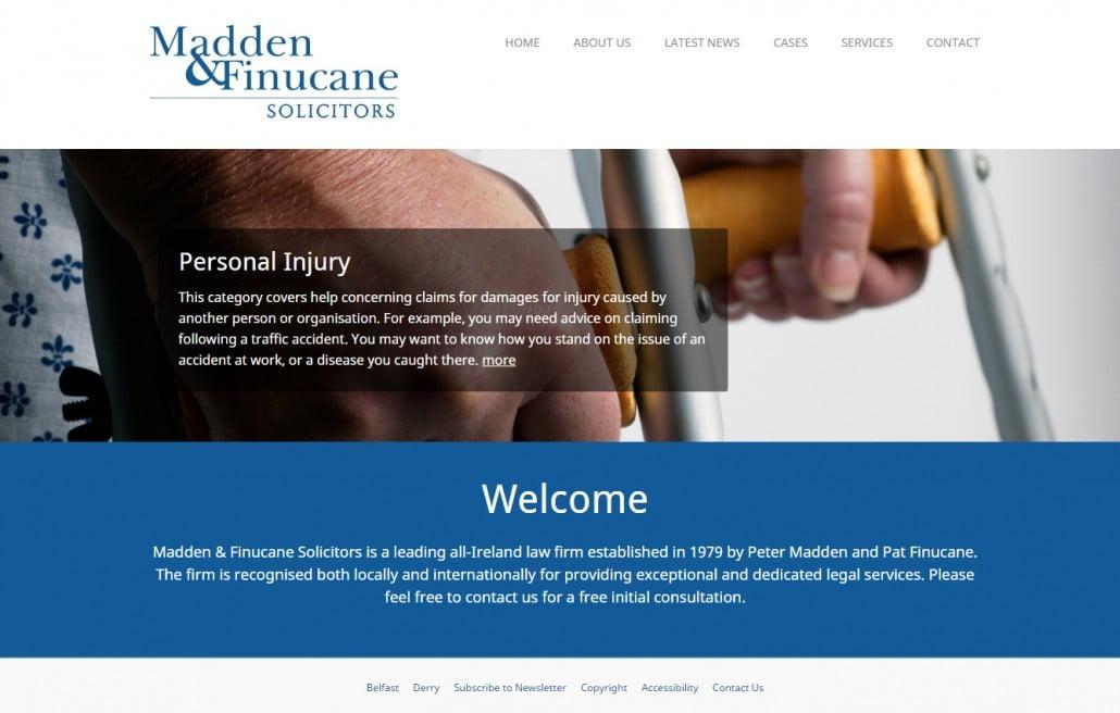 Madden & Finucane Website