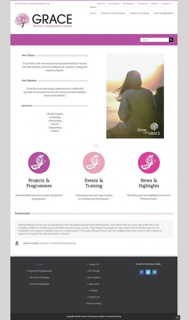 Grace Womens Development Limited Website