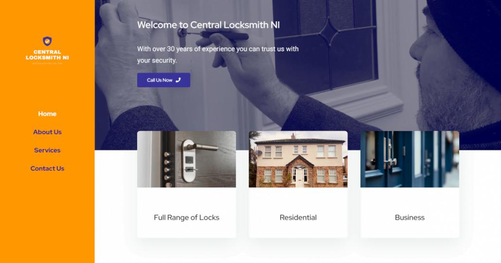 Central Locksmith NI Website